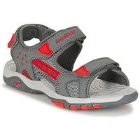 Παπούτσια Αγόρι Σανδάλια / Πέδιλα Kangaroos K-CELTIC Grey / Orange