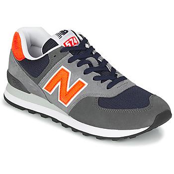 Παπούτσια Άνδρας Χαμηλά Sneakers New Balance 574 Grey / Orange