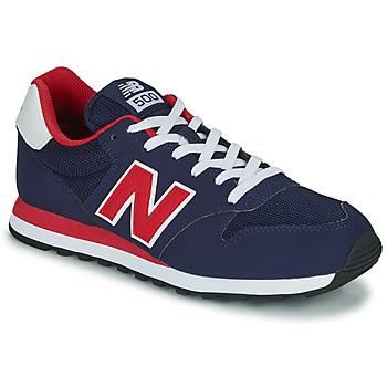 Παπούτσια Άνδρας Χαμηλά Sneakers New Balance 500 Μπλέ / Red