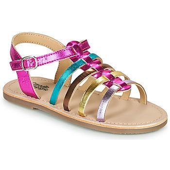 Παπούτσια Κορίτσι Σανδάλια / Πέδιλα Citrouille et Compagnie MAYANA Multicolour