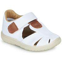 Παπούτσια Παιδί Σανδάλια / Πέδιλα Citrouille et Compagnie GUNCAL Άσπρο