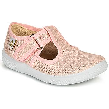 Παπούτσια Κορίτσι Μπαλαρίνες Citrouille et Compagnie MATITO Ροζ / Μεταλικό