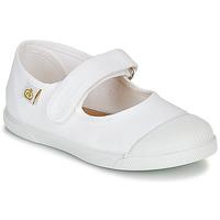 Παπούτσια Παιδί Μπαλαρίνες Citrouille et Compagnie APSUT Άσπρο