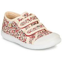 Παπούτσια Κορίτσι Χαμηλά Sneakers Citrouille et Compagnie GLASSIA Ecru / Multicolour