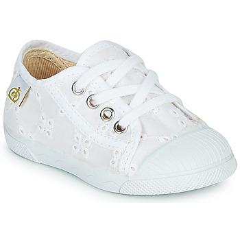 Παπούτσια Κορίτσι Χαμηλά Sneakers Citrouille et Compagnie MALIKA Άσπρο