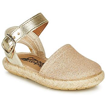 Παπούτσια Κορίτσι Σανδάλια / Πέδιλα Citrouille et Compagnie MIOSOTIS Gold