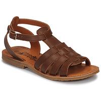 Παπούτσια Κορίτσι Σανδάλια / Πέδιλα Citrouille et Compagnie MINIBOU Brown