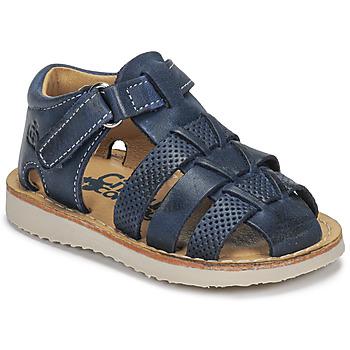 Παπούτσια Αγόρι Σανδάλια / Πέδιλα Citrouille et Compagnie MISTIGRI Marine