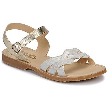Παπούτσια Κορίτσι Σανδάλια / Πέδιλα Citrouille et Compagnie MADELLE Silver