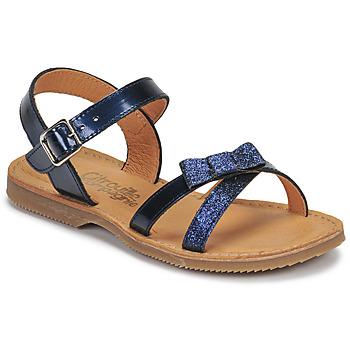 Παπούτσια Κορίτσι Σανδάλια / Πέδιλα Citrouille et Compagnie JISCOTTE Marine