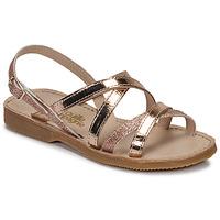Παπούτσια Κορίτσι Σανδάλια / Πέδιλα Citrouille et Compagnie GENTOU Bronze / Glitter