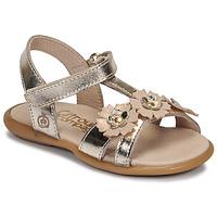 Παπούτσια Κορίτσι Σανδάλια / Πέδιλα Citrouille et Compagnie MARELLE Silver