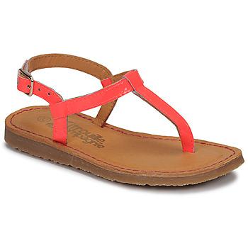 Παπούτσια Κορίτσι Σαγιονάρες Citrouille et Compagnie MIZZA Ροζ / Fluo