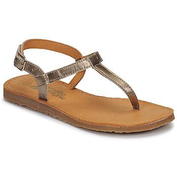 Παπούτσια Κορίτσι Σαγιονάρες Citrouille et Compagnie MIZZA Gold