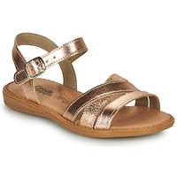 Παπούτσια Κορίτσι Σανδάλια / Πέδιλα Citrouille et Compagnie IZOEGL Bronze