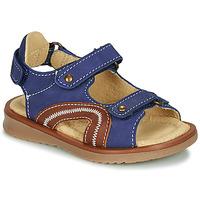 Παπούτσια Αγόρι Σανδάλια / Πέδιλα Citrouille et Compagnie MASTIKO Μπλέ