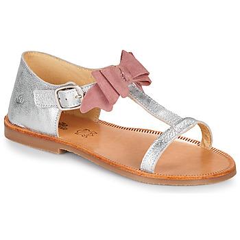Παπούτσια Κορίτσι Σανδάλια / Πέδιλα Citrouille et Compagnie MELINDA Silver