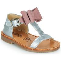 Παπούτσια Κορίτσι Σανδάλια / Πέδιλα Citrouille et Compagnie MELINDA Ροζ / Χρυσο