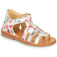 Παπούτσια Κορίτσι Σανδάλια / Πέδιλα Citrouille et Compagnie MIDINA Multicolour