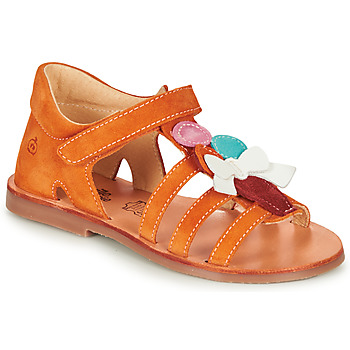 Παπούτσια Κορίτσι Σανδάλια / Πέδιλα Citrouille et Compagnie MIETTE Orange