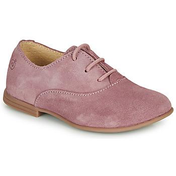 Παπούτσια Κορίτσι Derby Citrouille et Compagnie MISTI Ροζ