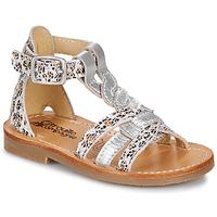 Παπούτσια Κορίτσι Σανδάλια / Πέδιλα Citrouille et Compagnie GITANOLO Leopard