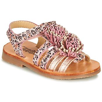 Παπούτσια Κορίτσι Σανδάλια / Πέδιλα Citrouille et Compagnie MARINAS Ροζ