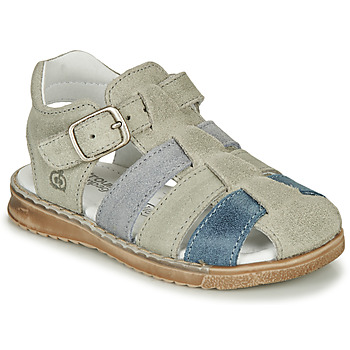 Παπούτσια Αγόρι Σανδάλια / Πέδιλα Citrouille et Compagnie ZIDOU Grey