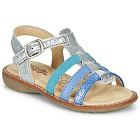 Παπούτσια Κορίτσι Σανδάλια / Πέδιλα Citrouille et Compagnie GROUFLA Silver / Μπλέ / Vertd'eau