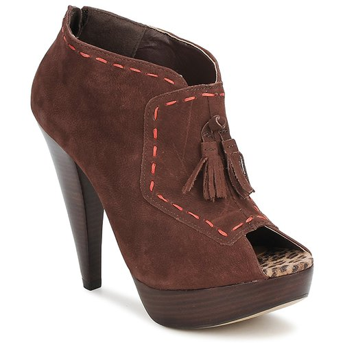 Παπούτσια Γυναίκα Χαμηλές Μπότες Via Uno KAMILA Brown