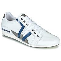 Παπούτσια Άνδρας Χαμηλά Sneakers Redskins WARREN Άσπρο / Μπλέ / Grey