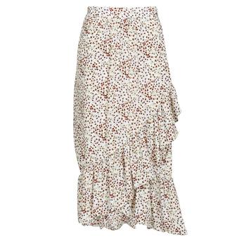 Υφασμάτινα Γυναίκα Φούστες Betty London MADILOU Άσπρο / Red