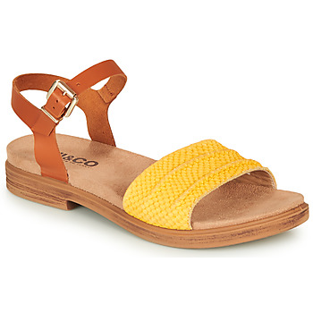 Παπούτσια Γυναίκα Σανδάλια / Πέδιλα IgI&CO  Cognac / Yellow