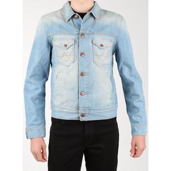Υφασμάτινα Άνδρας Τζιν Μπουφάν/Jacket  Wrangler Denim Jacket W458QE20T blue