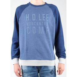 Υφασμάτινα Άνδρας Fleece Lee Graphic Crew SWS L80ODELR blue