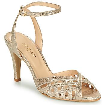 Παπούτσια Γυναίκα Σανδάλια / Πέδιλα Jonak DAICHYAN Platinum