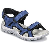Παπούτσια Γυναίκα Σπορ σανδάλια Allrounder by Mephisto LARISA Μπλέ
