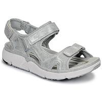 Παπούτσια Γυναίκα Σπορ σανδάλια Allrounder by Mephisto ITS ME Silver