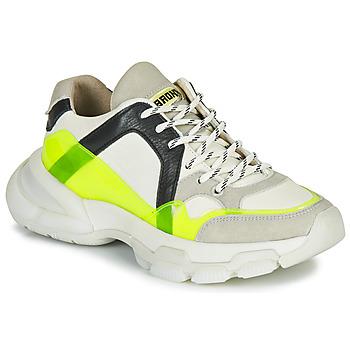 Παπούτσια Γυναίκα Χαμηλά Sneakers Bronx SEVENTY STREET Άσπρο / Yellow