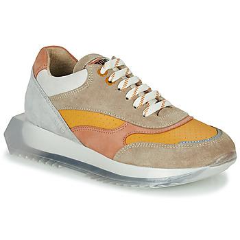 Παπούτσια Γυναίκα Χαμηλά Sneakers Bronx LINKK-UP Taupe / Ροζ / Grey