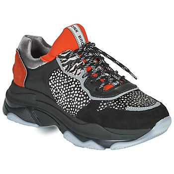 Παπούτσια Γυναίκα Χαμηλά Sneakers Bronx BAISLEY Black / Orange