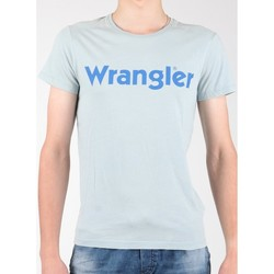 Υφασμάτινα Άνδρας T-shirt με κοντά μανίκια Wrangler S/S Graphic Tee W7A64DM3E grey