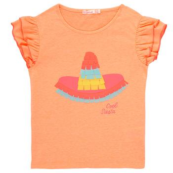 Υφασμάτινα Κορίτσι T-shirt με κοντά μανίκια Billieblush / Billybandit NORE Orange