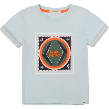 Υφασμάτινα Αγόρι T-shirt με κοντά μανίκια Billieblush / Billybandit NOLVIO Μπλέ