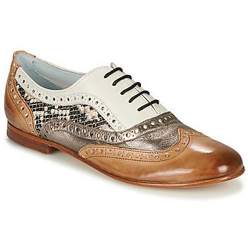 Παπούτσια Γυναίκα Μπαλαρίνες Melvin & Hamilton SONIA 1 Brown / Beige