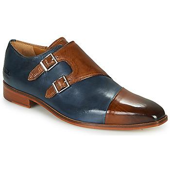 Παπούτσια Άνδρας Richelieu Melvin & Hamilton LANCE 34 Μπλέ / Brown