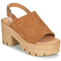 Παπούτσια Γυναίκα Σανδάλια / Πέδιλα Musse & Cloud TAIKI Cognac