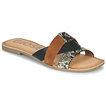 Παπούτσια Γυναίκα Τσόκαρα Gioseppo LANTANA Black / Cognac