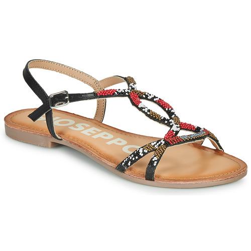 Παπούτσια Γυναίκα Σανδάλια / Πέδιλα Gioseppo PARISH Black / Red