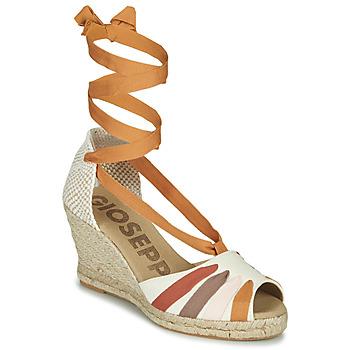 Παπούτσια Γυναίκα Σανδάλια / Πέδιλα Gioseppo ARLEY Ecru / Moutarde